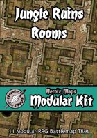 Heroic Maps - Modular Kit: Jungle Ruins Rooms