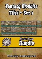 Heroic Maps - Fantasy Modular Tiles [BUNDLE]
