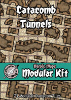 Heroic Maps - Modular Kit: Catacomb Tunnels