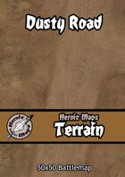 Heroic Maps - Terrain: Dusty Road