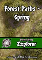 Heroic Maps - Explorer: Forest Paths Spring