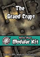 Heroic Maps - Modular Kit: The Grand Crypt
