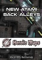 Heroic Maps - New Atami Back Alleys