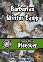 Heroic Maps - Discover: Barbarian Winter Camp