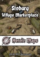 Heroic Maps - Siobury Village Marketplace