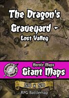 Heroic Maps - Giant Maps: The Dragon's Graveyard - Lost Valley