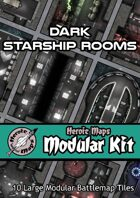 Heroic Maps - Modular Kit: Dark Starship Rooms