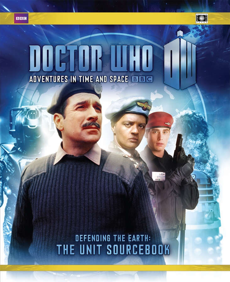 Doctor Who - Defending the Earth: The UNIT Sourcebook on RPGNow.com