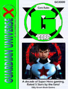 (G-Core) G-Core X Super Hero Role-Playing System