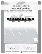 BinderMaps: Mesozoic Garden - a highway rest stop and roadside topiary attraction