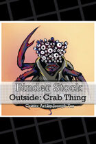 BinderStock - Outside - Crab Thing