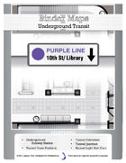 BinderMaps: Purple Line - Underground Transit Station and Subway tunnels