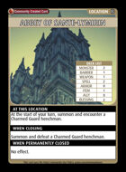 Abbey Of Sante-lymirin - Custom Card