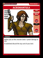 Acromantula - Custom Card