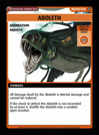 Aboleth - Custom Card