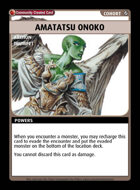 Amatatsu Onoko - Custom Card