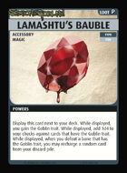 Pathfinder Adventure Card Guild Season of the Goblins Lamashtu's Bauble
