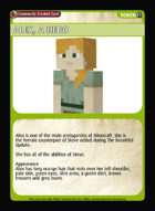 Alex, A Hero - Custom Card