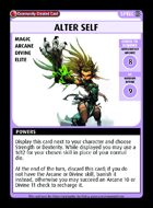 Alter Self - Custom Card