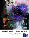 Hero Art Templates Compendium 9