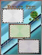 Knotty Works Backgrounds August Rays