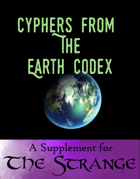 Cyphers From The Earth Codex