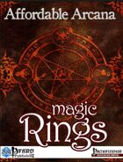Affordable Arcana - Magic Rings (PFRPG)