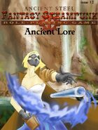 Ancient Lore  Issue 12 (supplement for Ancient steel)