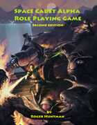 Space Cadet Alpha Role-playing game 2nd edition