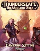 Thunderscape: the World of Aden: Campaign Setting