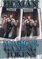 Magical Gaming Tokens - Human