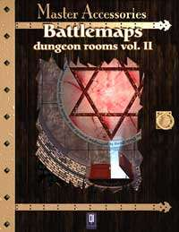 Battlemaps: Dungeon Rooms Vol.II on RPGNow.com