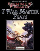 #1 With a Bullet Point: 7 War Master Feats