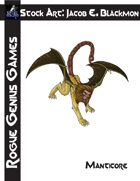 Stock Art: Blackmon Manticore