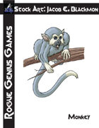 Stock Art: Blackmon Monkey