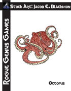 Stock Art: Blackmon Octopus