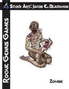 Stock Art: Blackmon Zombie