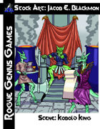 Stock Art: Blackmon Scene Kobold Throne Room