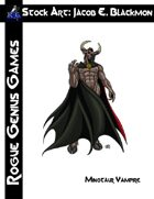 Stock Art: Blackmon Minotaur Vampire