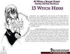 #1 With a Bullet Point: 13 Witch Hexes