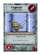 """firesword"" Sally - Custom Card"