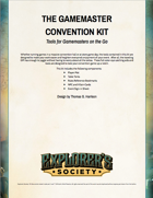 The Gamemaster's Convention Kit