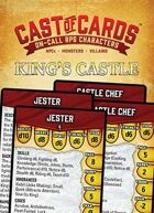 Cast of Cards: King's Castle (Fantasy)