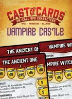 Cast of Cards: Vampire Castle (Fantasy)