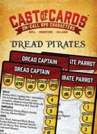 Cast of Cards: Dread Pirates (Fantasy)