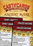 Cast of Cards: Ancient Ruins (Fantasy)