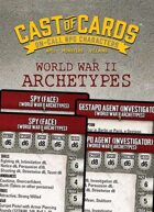 Cast of Cards: World War II Archetypes (Modern)