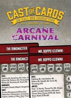 Cast of Cards: Arcane Carnival (Modern)