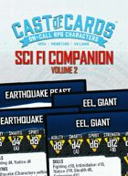 Cast of Cards: Science Fiction Companion, Vol. 2