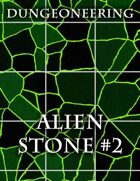 *Dungeoneering Presents* Alien Stone Map Pieces (Green)